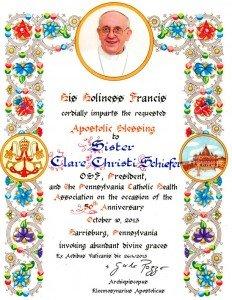 PCHA-50th-Anniversary-Papal-Blessingweb