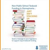 Equal textbook funding, pennsylvania catholic conference, pennsylvania catholics