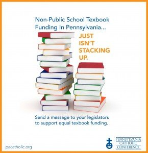 Equal textbook funding, pennsylvania catholic conference, pennsylvania catholics