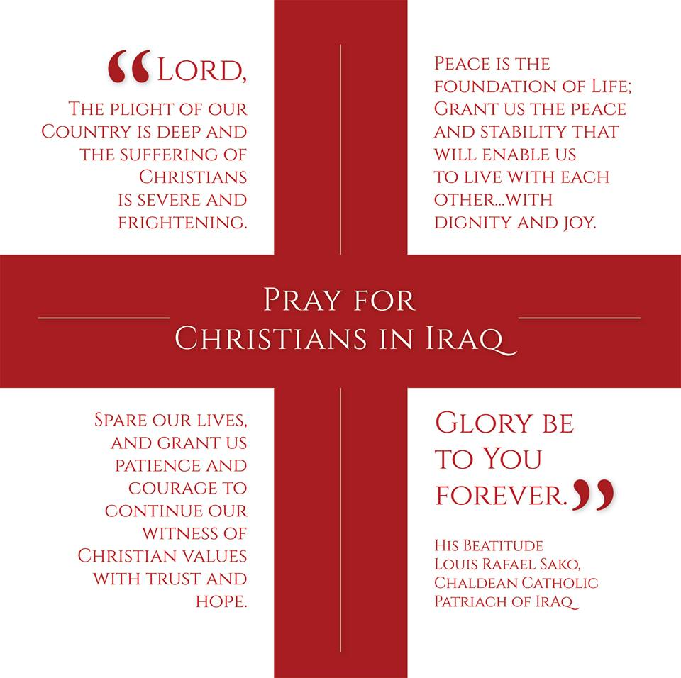 Pennsylvania Catholic Conference » Day of Prayer for Iraq on