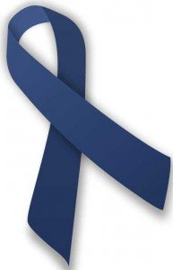 The blue ribbon is a sign of Child Abuse Prevention Month.