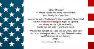 religious liberty prayer